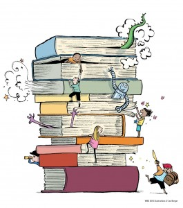 Честит 2. април - Международен ден на детските книги