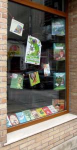 Книжарница Жар-птица - витрина