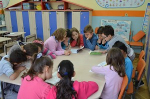 "ІІІ ""Б"" клас с класен ръководител Светла Тодорова"