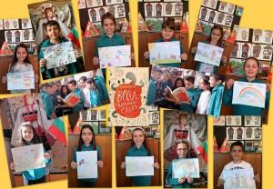 "3г клас от СОУ ""Христо Ботев"" в Русе даде вота си за своето ""бисерче"""